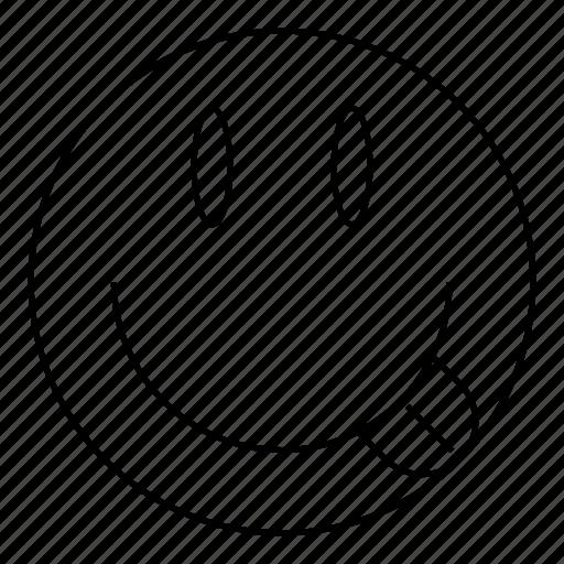 emoji, emoticon, expression, face, happy, smile, smiley icon