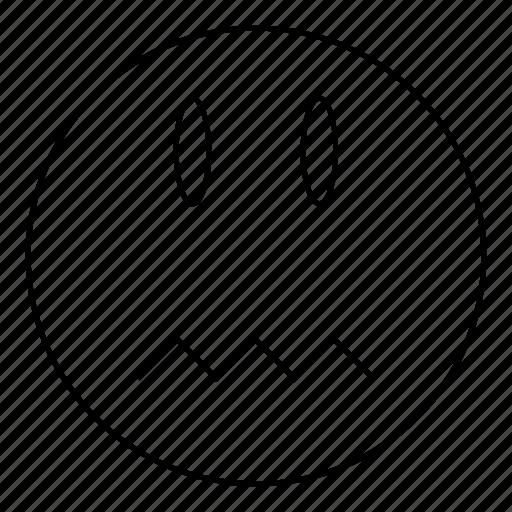 emoji, emoticon, face, smile icon