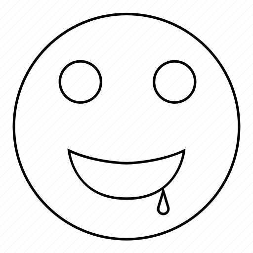 Drool, emoji, emoticon, face, hungry, smiley, want icon - Download on Iconfinder