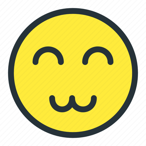 emoji, emoticons, face, happy, smiley icon