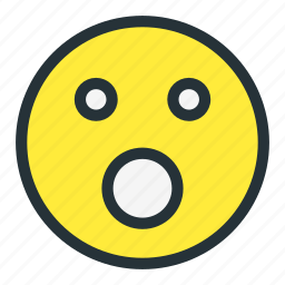 emoji, emoticons, face, flushed, shock, shocked, smiley icon