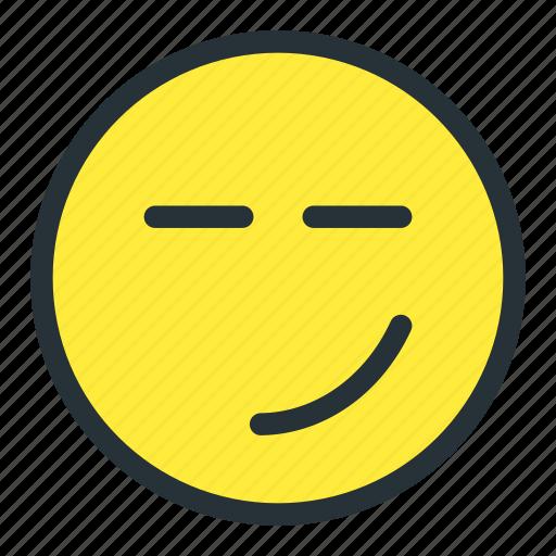 emoji, emoticons, face, lazy, meh, smiley, unhappy icon