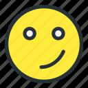 confuse, emoji, emoticons, face, meh, smiley