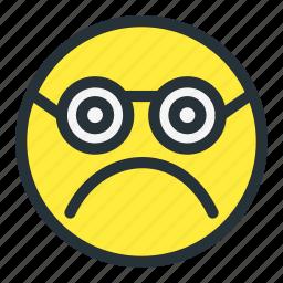 emoji, emoticons, face, faceunhappy, sad, smiley, sunglasses icon