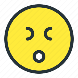 emoji, emoticons, face, smiley, stress, tired icon