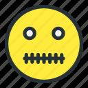 emoji, emoticons, face, smiley, zipped