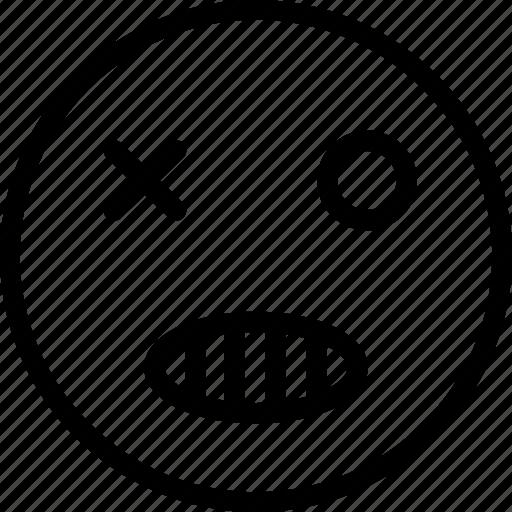 evil, nasty, nasty emoji, vicious, wicked icon