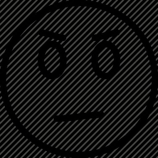bad, evil, nasty, nasty emoji, vicious icon