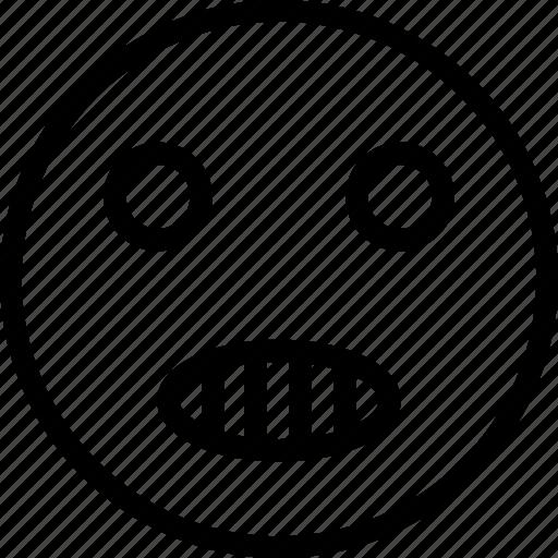 laughing, speak, speaking smiley, talking emoji icon