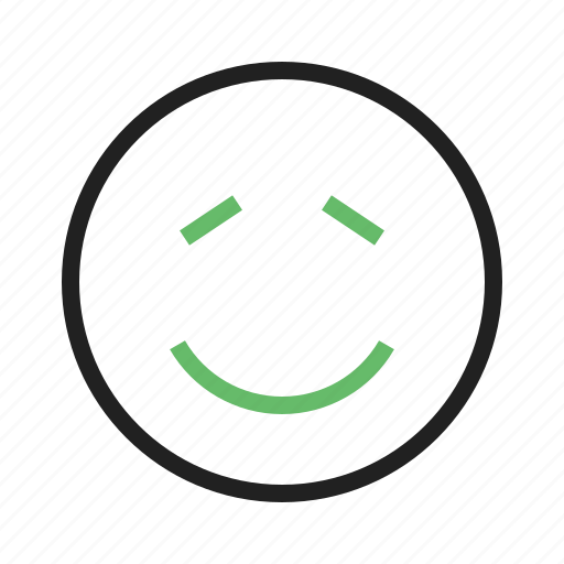 Confused, expression, man, person, shi, shy, smile icon - Download on Iconfinder