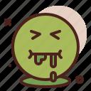 sick, emoji, smiley, emoticon