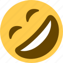 2, emojis, emotion, happy, laugh, laughing icon