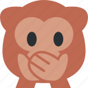 2, animal, baboon, cute, monkey, primate icon