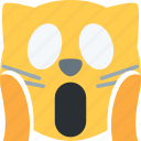 cat, evil, halloween, kitten, monster icon