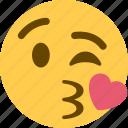1, kiss icon