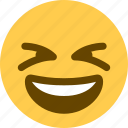 1, laughing icon