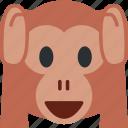 1, monkey icon
