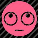 confused, emoji, eyes, mind, rolling, smiley, thinking