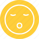 sleeping, sleeping smiley, snoring icon