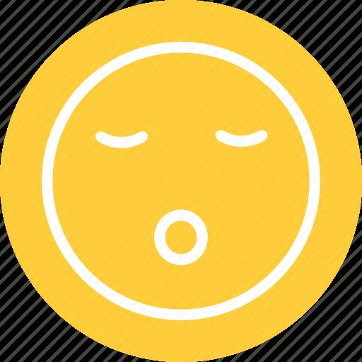 sleeping, sleeping smiley, snoring icon