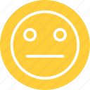disappointed, disappointed emoticon, embarassed, embarassed emoji icon