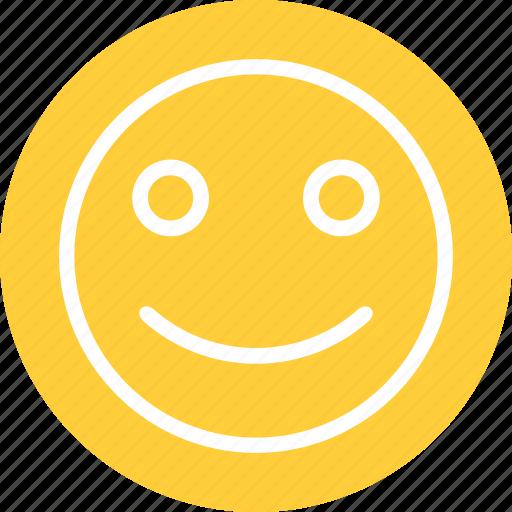 happy, happy smiley, smile, smile emoticon icon