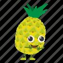 dessert, diet, food, fresh, pineapple icon