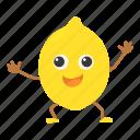 citrus, eco, food, fruit, lemon icon
