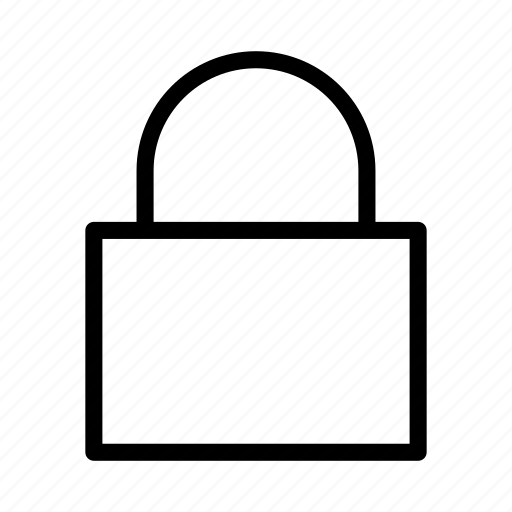 action, lock, protect, retriction, secure icon