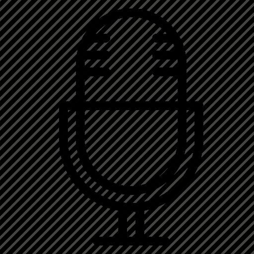 action, audio, microphone, recorder, sound icon