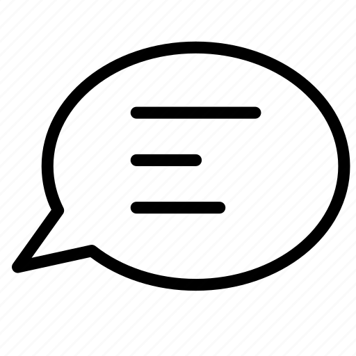 bubble, chat, conversation, message, talk icon