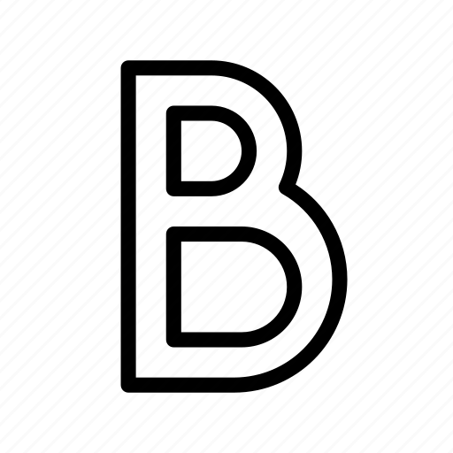 bold, content, editor, style, text, type icon