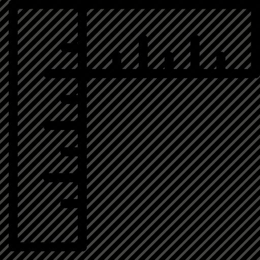 angle, design, editor, graphic, measurement, right, ruler icon