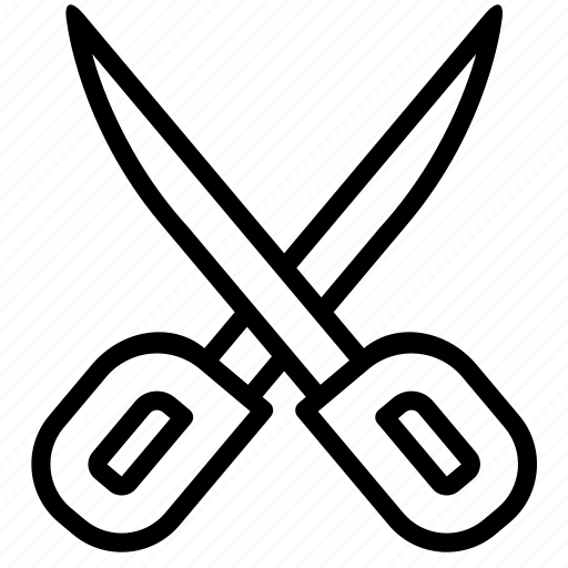 cut, design, graphic, remove, scissors, stationary, tool icon