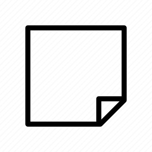 design, graphic, layer, note, paper icon