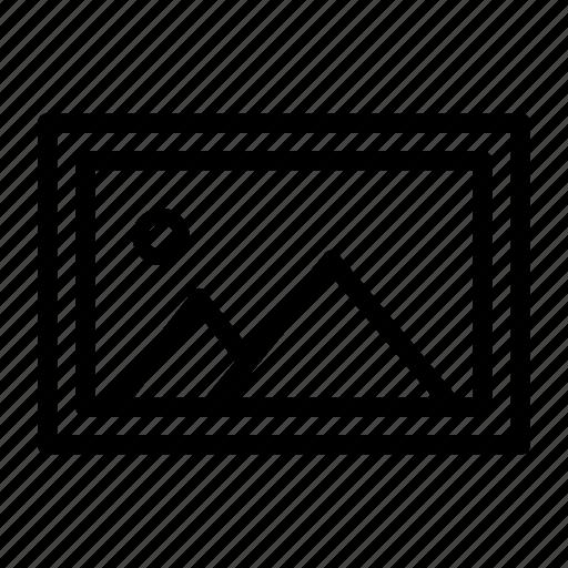 design, graphic, image, landscape, photo, picture icon