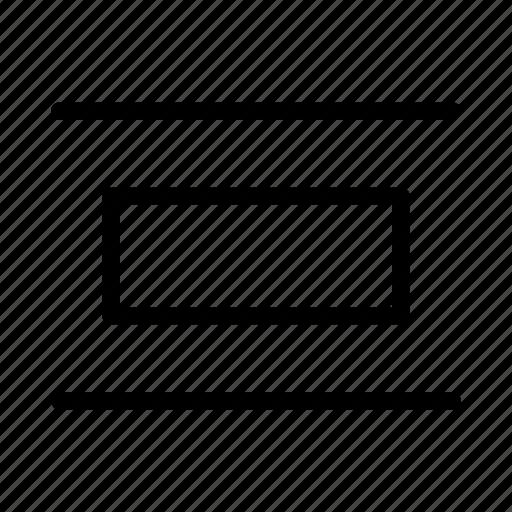 arrange, design, ditribute, graphic, horizontally, tool icon