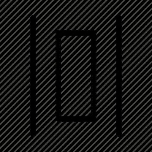 arrange, design, ditribute, graphic, tool, vertically icon
