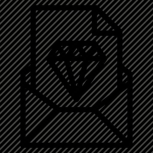 attachment, design, email, file, send, sketch icon