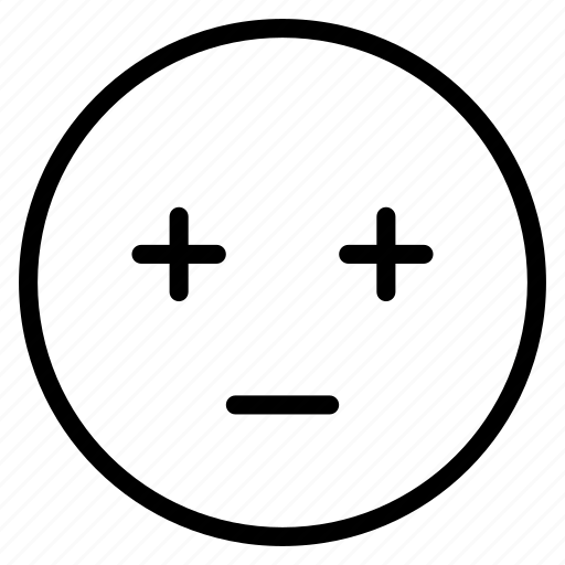 bored, dull, emoticon, emotion, expression, face, mood icon