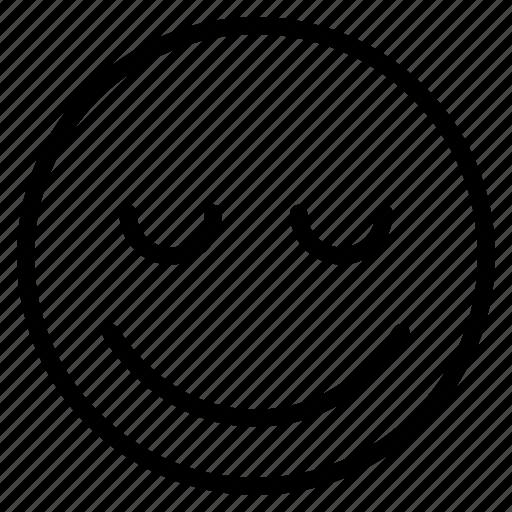 emoticon, emotion, expression, face, happy, mood, smile icon