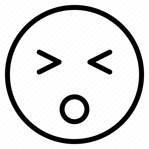 emoticon, emotion, expression, face, mood, surprised icon