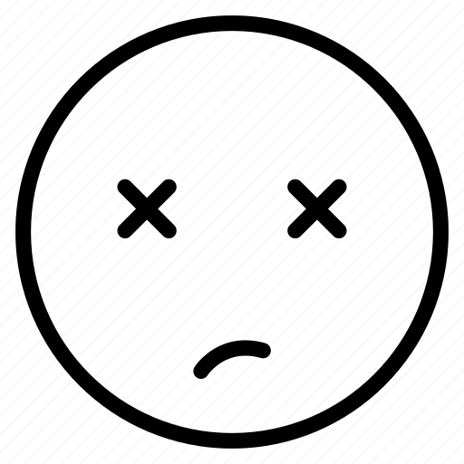 avatar, emoticon, emotion, expression, face, mood, unsure icon