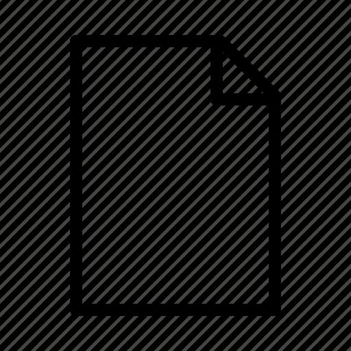 doc, document, empty, file, paper, text, txt icon