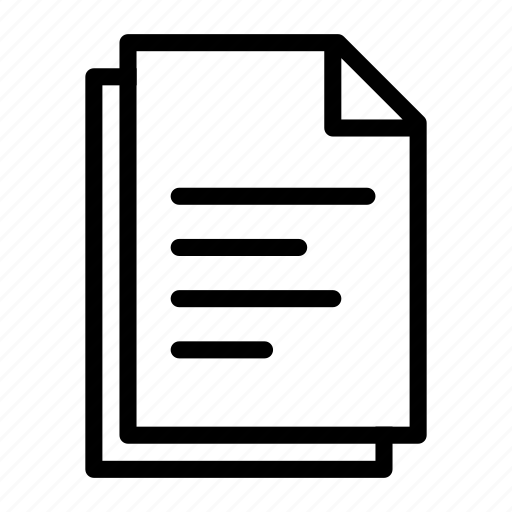 doc, document, documents, file, files, paper, text icon