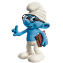 brainy, icon, smurf icon