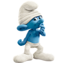 clumsy, icon, smurf icon