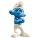 grouchy, icon, smurf icon