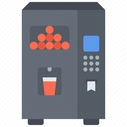 food, juice, lunch, machine, snack, snacks, vending icon