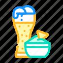nachos, snack, beer, snacks, food, drink